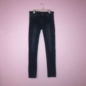 Denim - Dark Blue Skinny Jeans